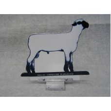Hampshire Sheep Mailbox Ornament