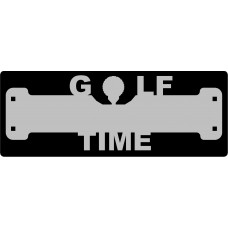 Golf Time Sign with 1 1/4