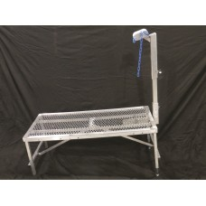 Aluminum Fold-Up Stand with Adjustbale Front Legs