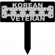 Korean Veteran Sign with 15