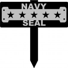 Navy Seal Veteran Sign with 15