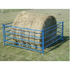 (2) Pack Collapsible Round Bale Feeders for Goats/Feeder Lambs