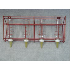 4 Bottle Nurser with Rack