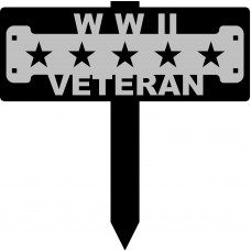 WWII Veteran Sign with 15