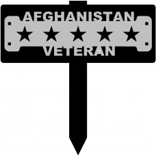 Afghanistan Veteran Sign with 15