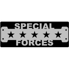 Special Forces Veteran Sign with 1 1/4